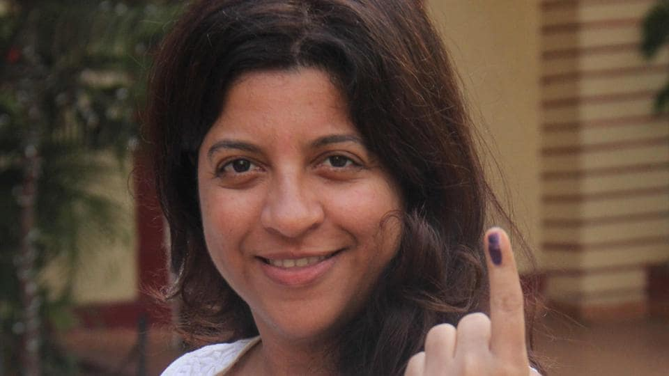DIRECTOR'S SPECIAL: Zoya Akhtar  is glad to have exercised her right. (Pramod Thakur/HT PHOTO)