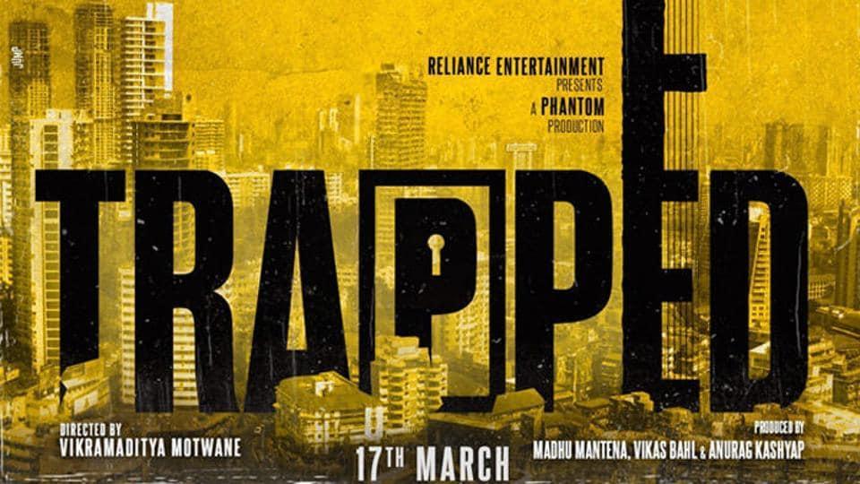 Trapped,Trailer,Rajkummar Rao