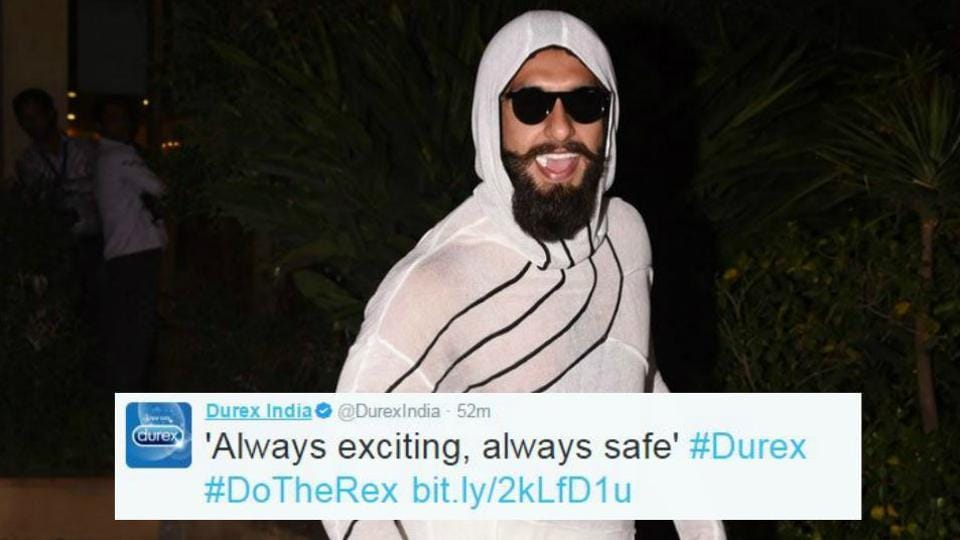 Ranveer Singh is not new to making whacky fashion choices.