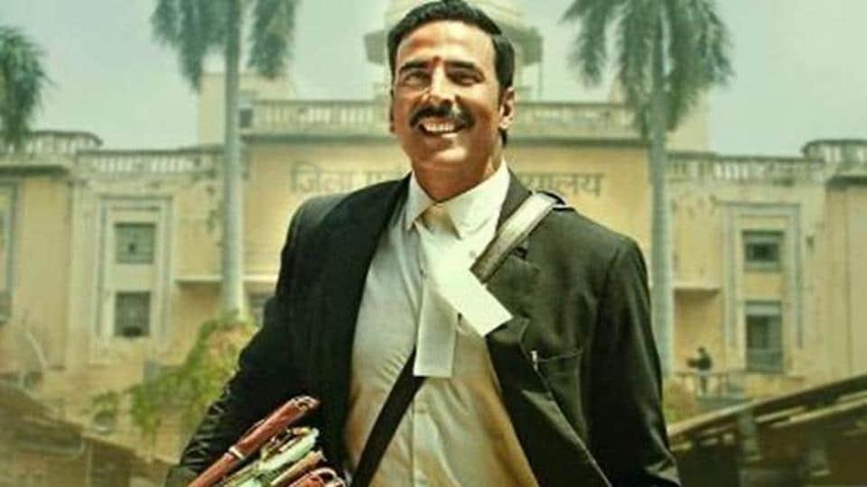 Akshay Kumar played lawyer Jagdishwar Mishra in Jolly LLB 2.
