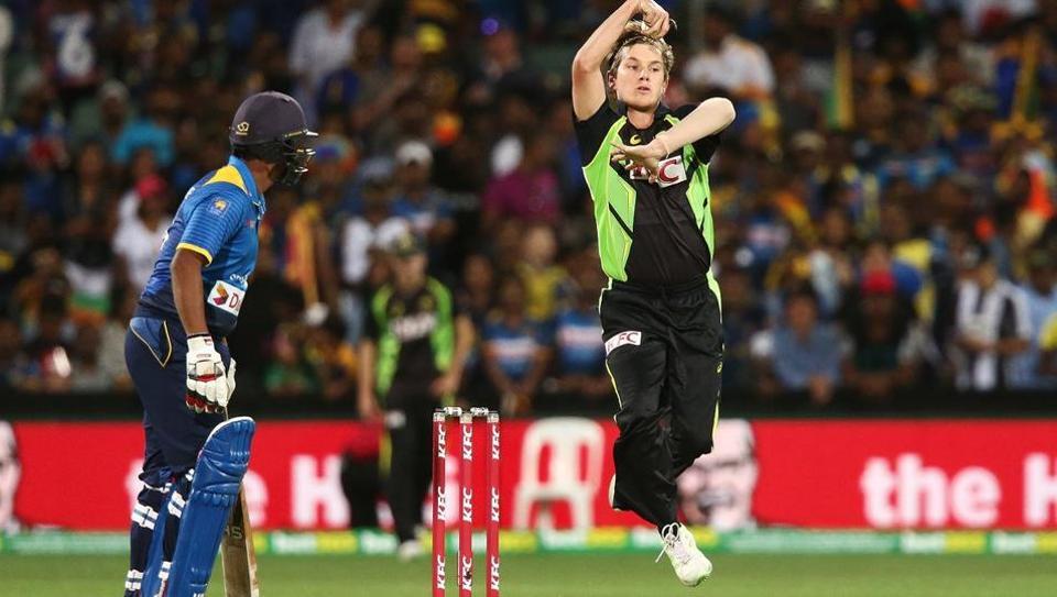 Australia leg-spinner Adam Zampa took 3/25 in the third T20Iagainst Sri Lanka in Adelaide on Wednesday.