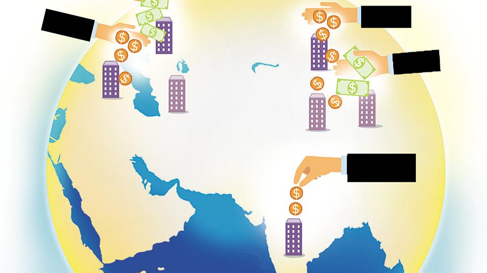 Global capital inflow