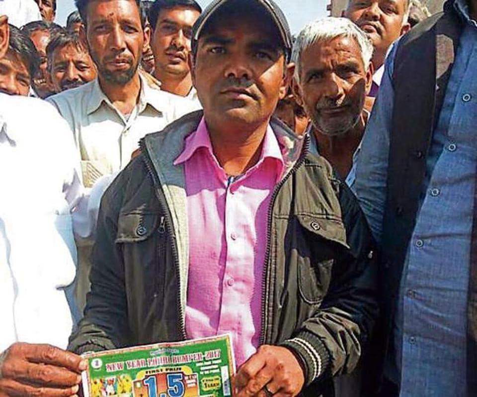 Lottery,Lohri bumper,Azad Singh