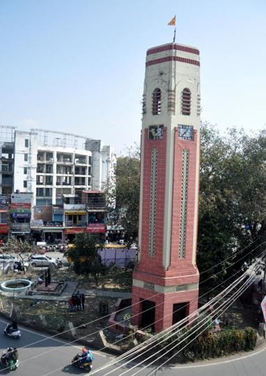 The Clock Tower was inaugurated by the then Railway Minister Lal Bahadur Shastri in 1953.