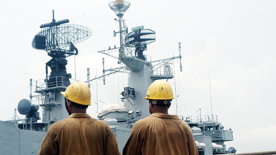 INS Betwa,Mumbai dockyard,Indian Navy