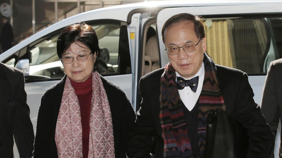 Donald Tsang and his wife. Former Hong Kong chief executive, who held the leadership post of chief executive for seven years from 2005, is the most senior city official ever to be convicted in a criminal trial and the highest ranking one to be put behind bars.