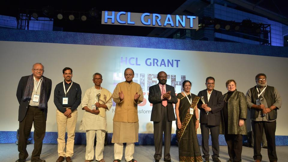 The three NGOs were among 3,000 entries which stood top in the competition. The award ceremony was held on Tuesday evening at HCL Technologies Hub in Noida.