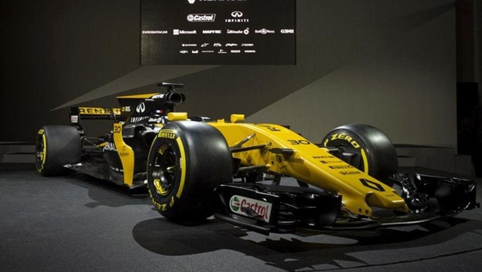 Renault unveiled their new car for the upcoming Formula One season.