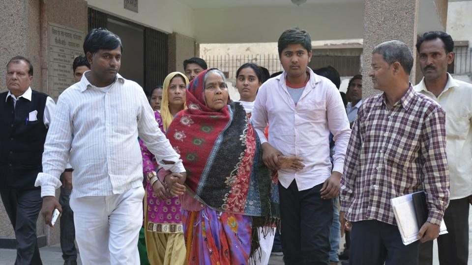 Families of victims who had appeared at the Ghaziabad court on Wednesday said they all wanted life imprisonment for the four convicts.
