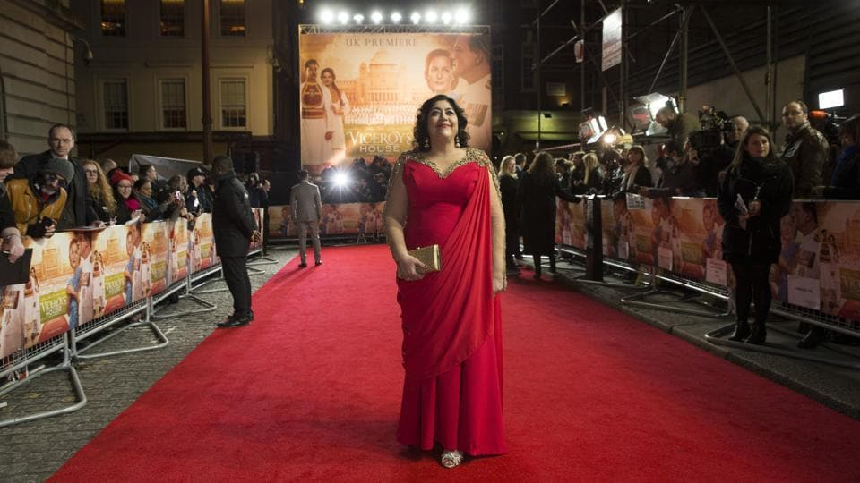 Director Gurinder Chadha poses for photographers. (Joel Ryan/Invision/AP)