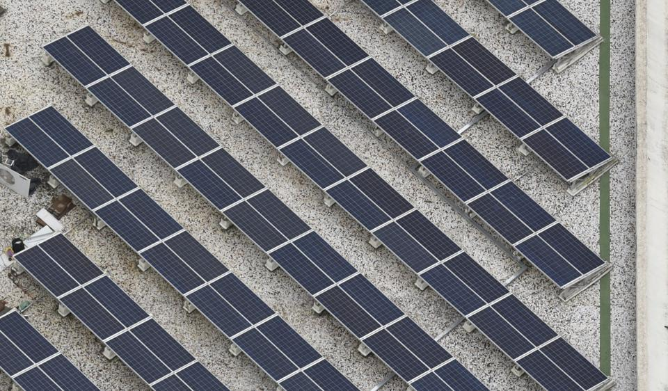 Mumbai receives 300 days of sunlight a year, making it easily possible to move away from the usual carbon-emitting process of burning coal and gas for electricity.