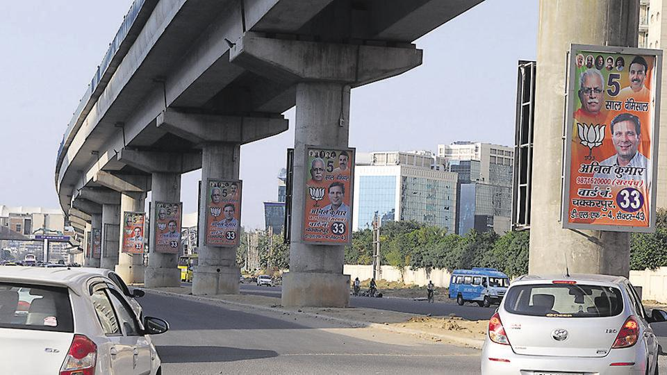 Gurgaon,municipal elections,BJP