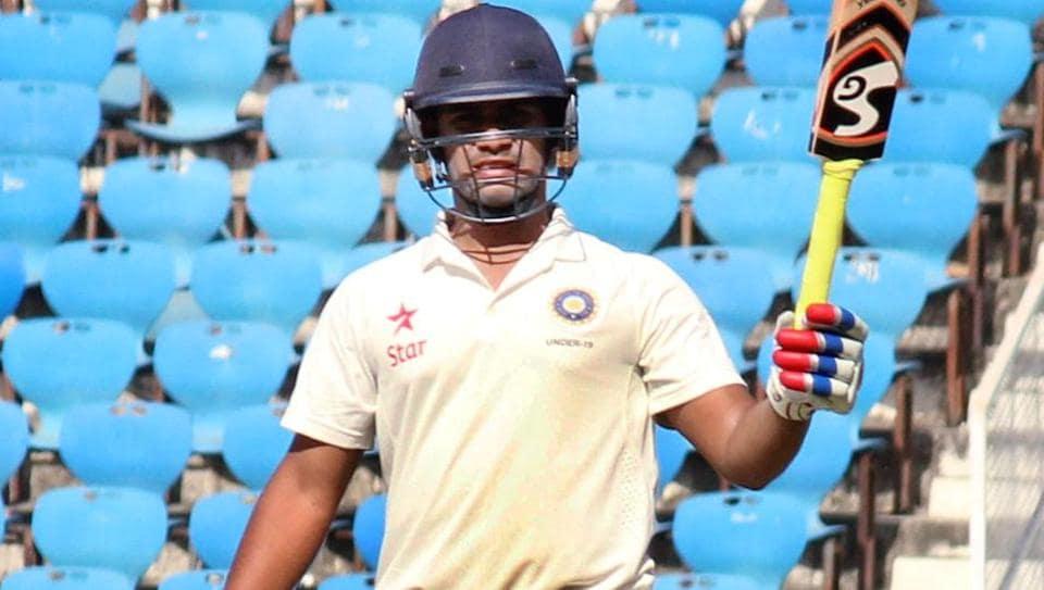 India vs England U19 test,Abhishek Goswami,U19 test