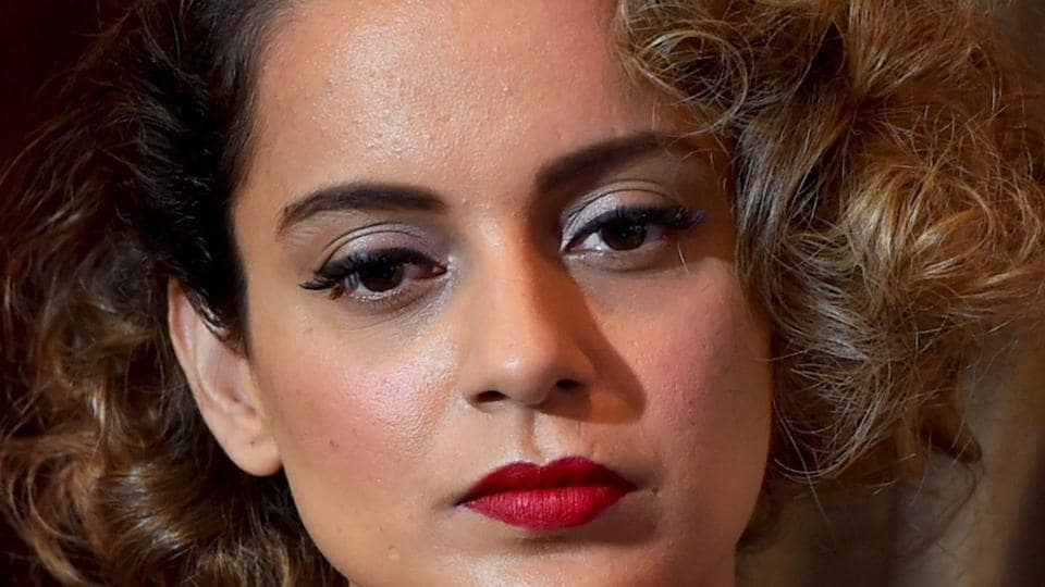 Kangana Ranaut during an interview with PTI to promote Rangoon .