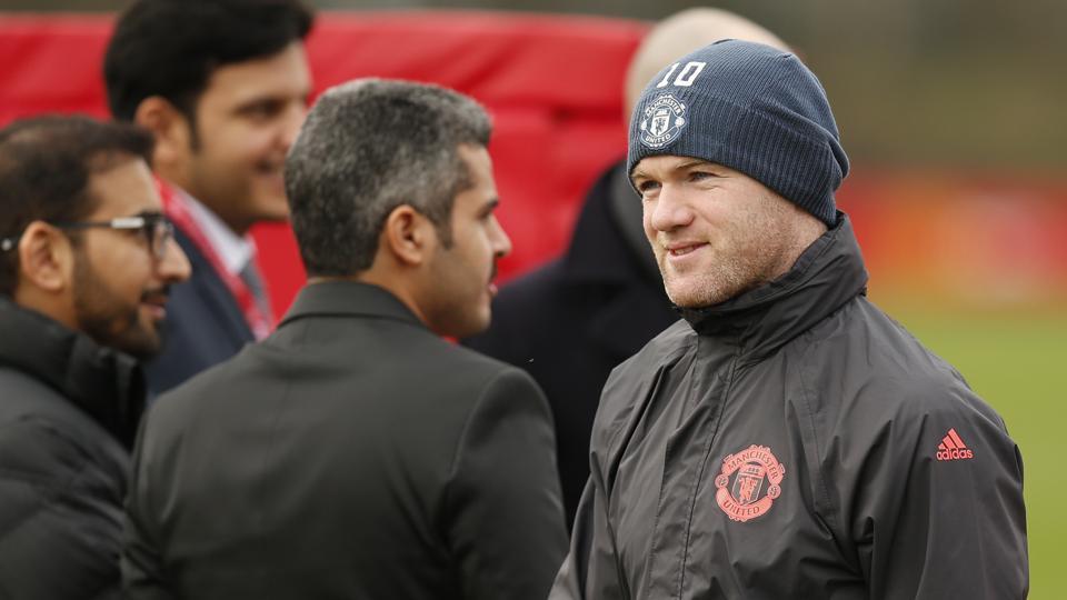 Wayne Rooney,Manchester United F.C.,Tianjin Quanjian F.C.