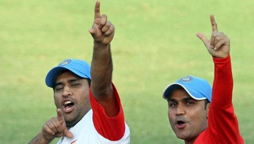 Virender Sehwag,MS Dhoni,IPL