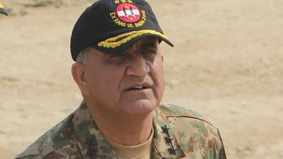 Pakistani army General Qamar Javed Bajwa.