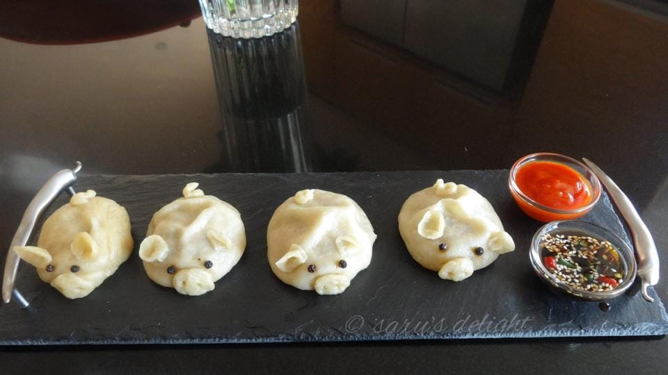 Pork dumplings, shared by a member on The Porkaholics