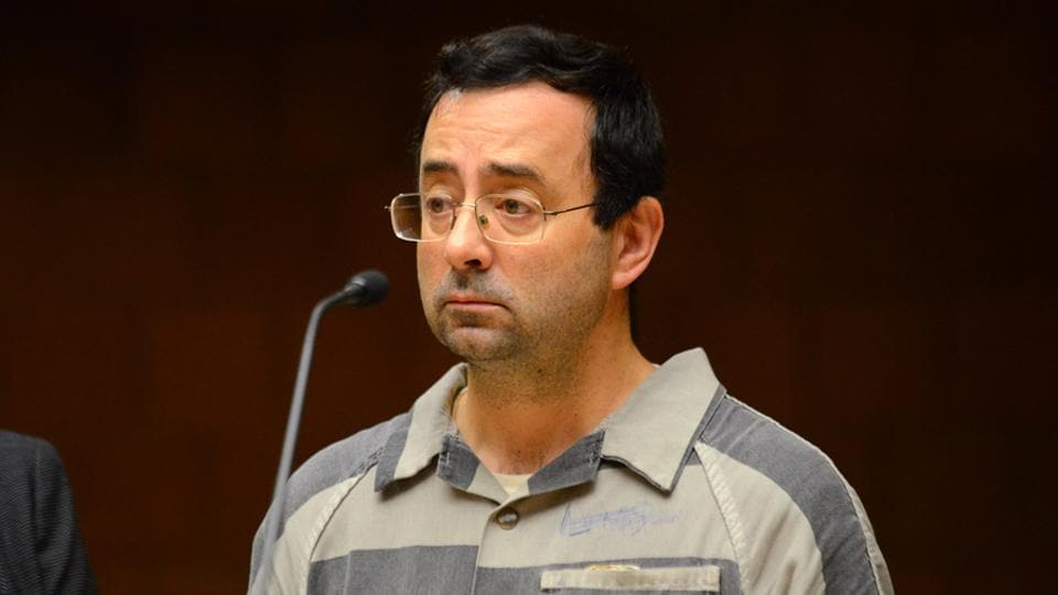 Larry Nassar, 53, was a doctor for Indianapolis-based USA Gymnastics, until summer 2015.