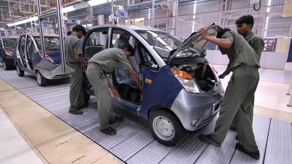 Tata's Nano plant was shifted to Sanand near Ahmedabad from Singur in West Bengal after it faced protests over land acquisition in the eastern state.