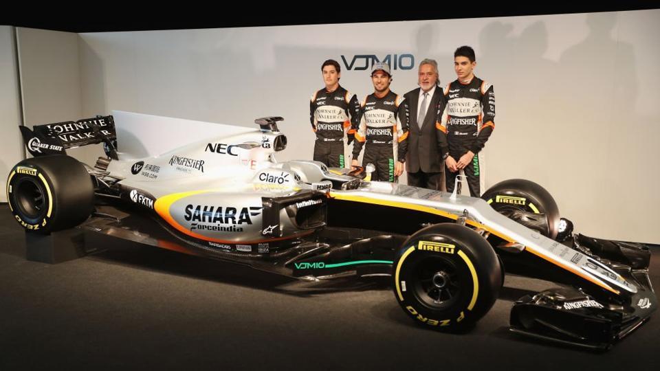 Vijay Mallya,Force India,Formula One