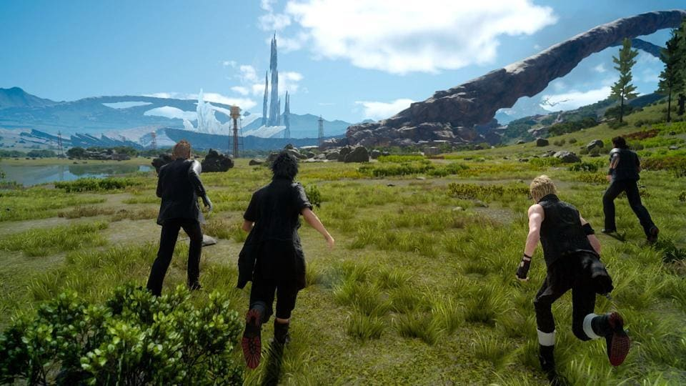 A screenshot from Final Fantasy XV one of Square Enix's biggest title.