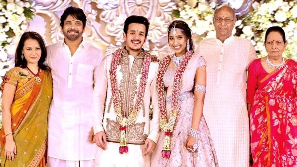 Akhil Akkineni and Shriya Bhupal got engaged on December 9, 2016.