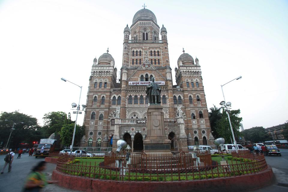 Mumbai…22nd November 2011…News… Bombay Municipal corporation headquarters in Mumbai…HT photo by Hemant Padalkar