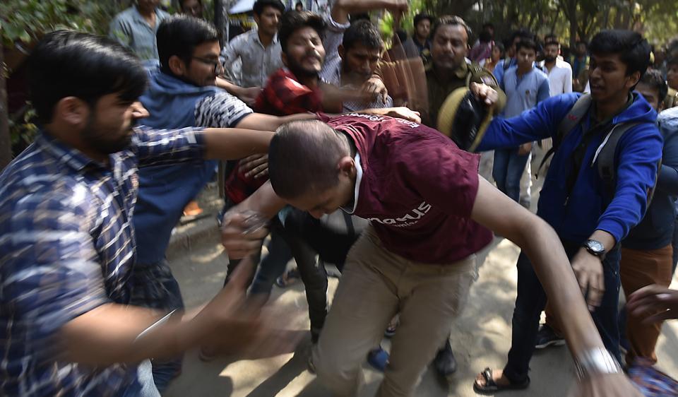 Ramjas clashes,DU violence,ABVP