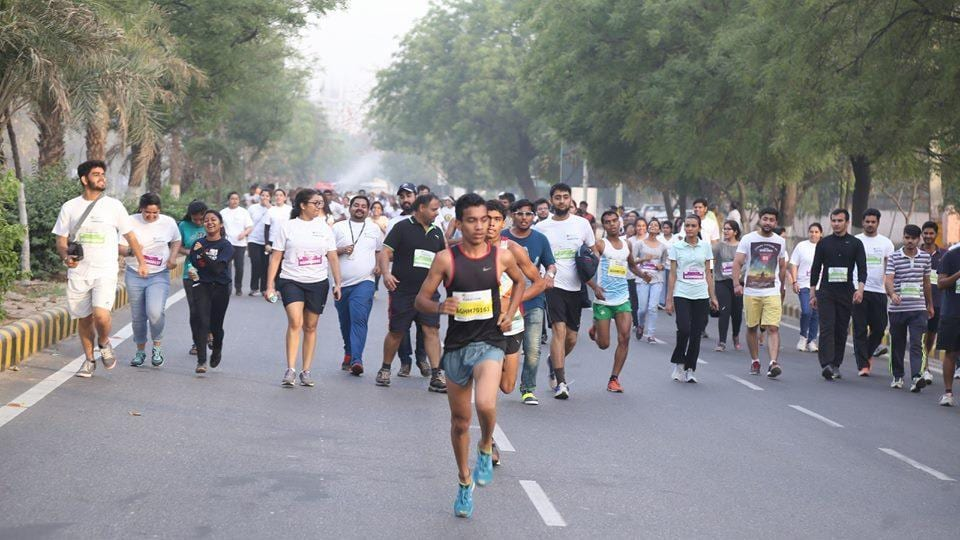 According to the organisers, last year's event saw the participation of around 10,000 people.
