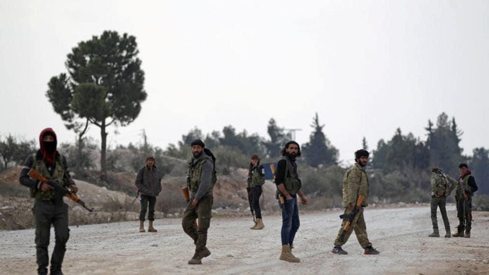 Syrian rebels,Syria,Al Bab