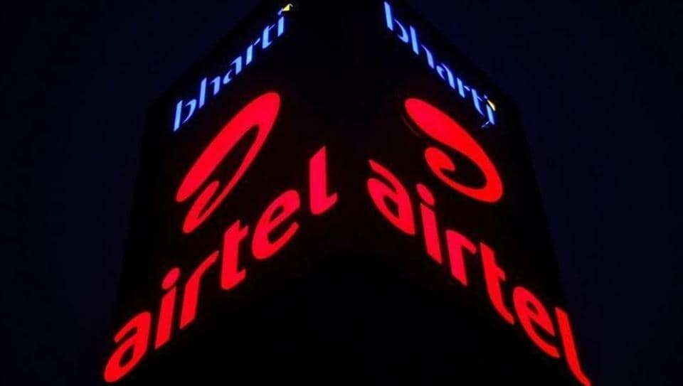A Bharti Airtel office building is pictured in Gurugram, on the outskirts of New Delhi,  on April 21, 2016.