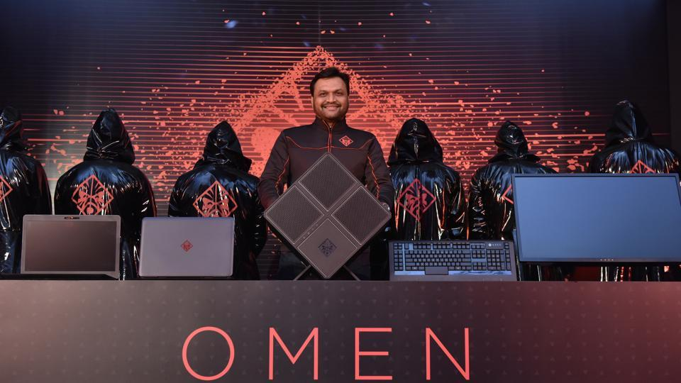 Ketan Patel Senior Director, Personal Systems, HP India, unveils the OMEN series of gaming PCs and peripherals.