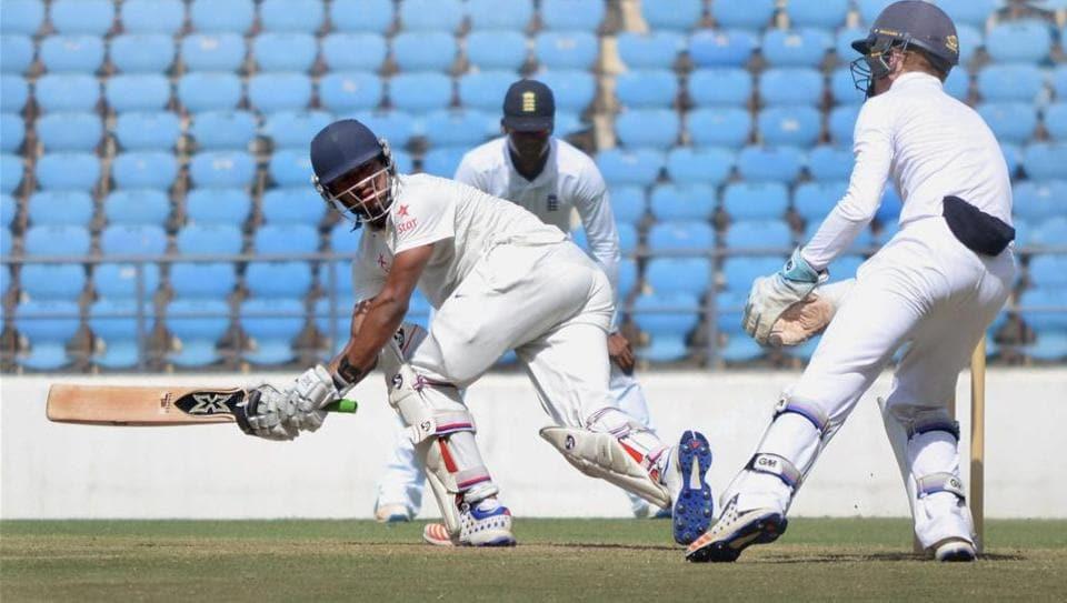 U-19 Test,India vs England,Saurabh Singh