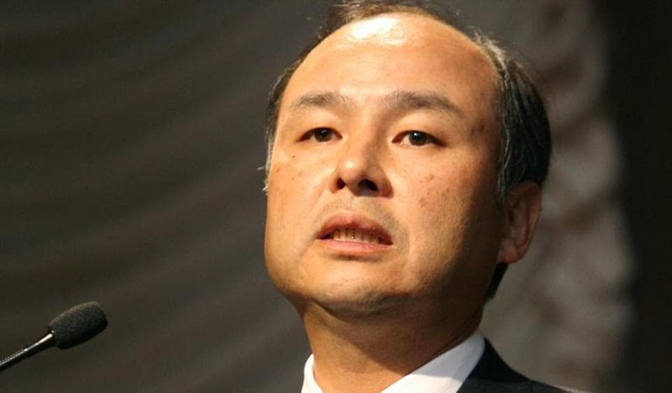 Masayoshi Son, President and CEO of Japan's Softbank Corp.