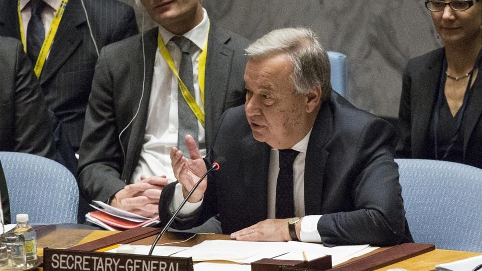 United Nations,Counter-terrorism,UN secretary general