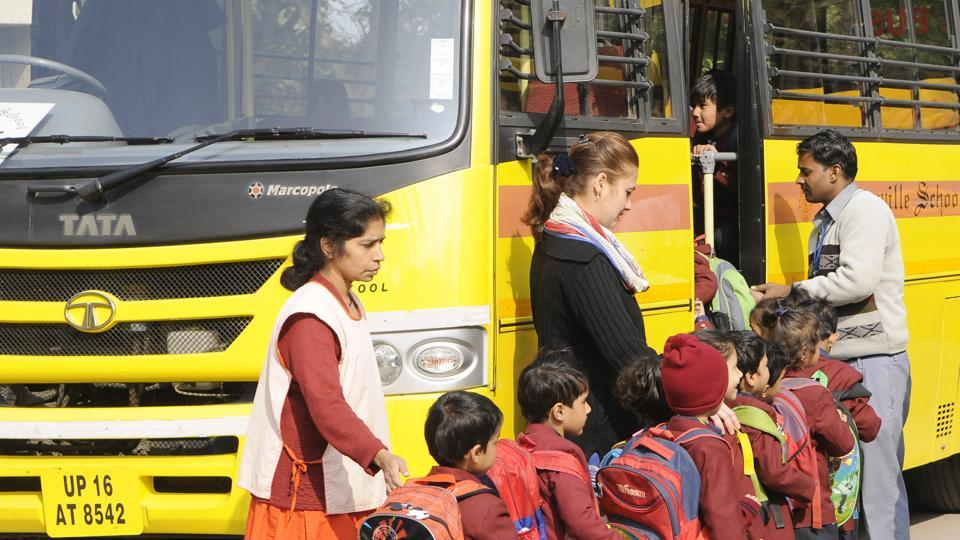 All schools affiliated to the CBSE will now have to depute guards on school buses and fit the vehicles with CCTVs.