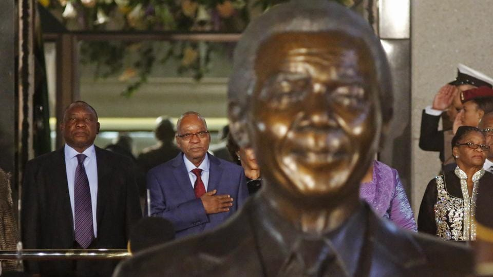 Mandela's African National Congress is, today, in a shambles. Mired in corruption, it lost most the country's biggest cities in elections in July. Within the party, there are calls for President Jacob Zuma to step down.