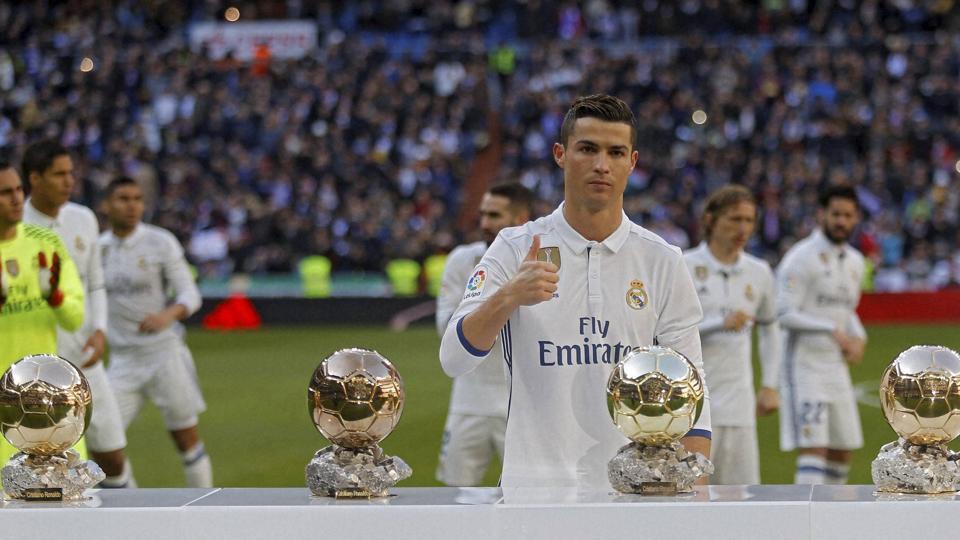 Real Madrid's Cristiano Ronaldo, who has four Golden Balls, is the most influential player online in China, according to a report.