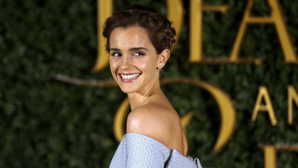 Emma Watson wowed everyone at a media event for her upcoming film, Beauty and the Beast in London on Thursday. (AP)