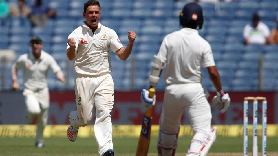 india vs australia,steve o'keefe,peter handscomb
