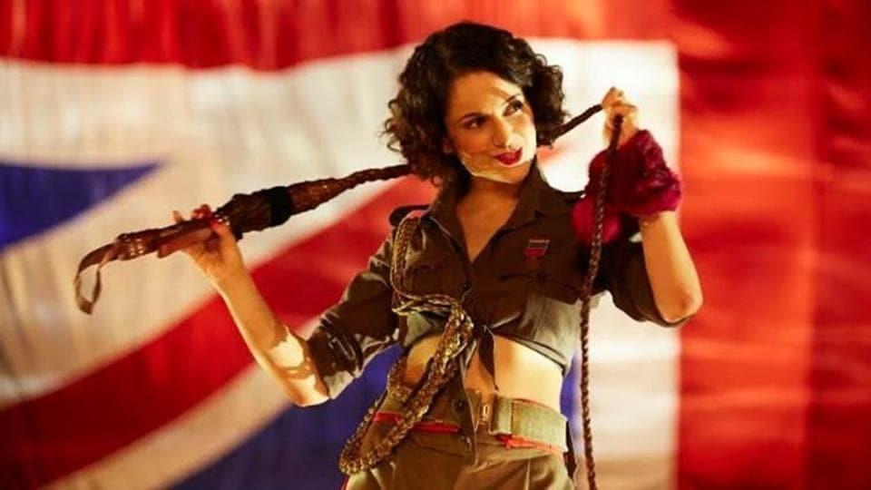 Kangana Ranaut plays Miss Julia, an action heroine in Rangoon.