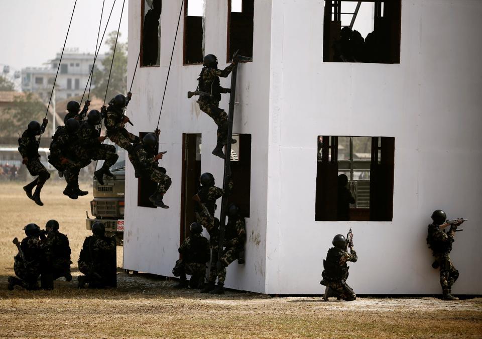 Nepal,China,military drill