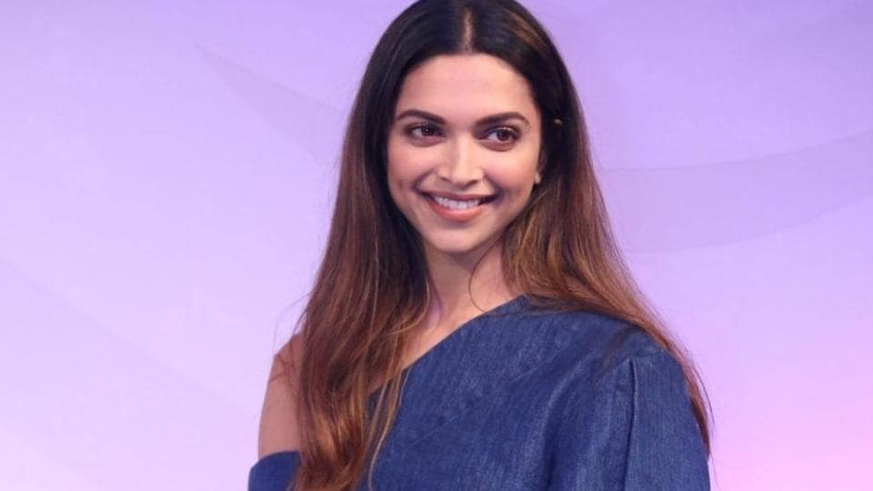 Deepika Padukone during a programme in Mumbai on Feb 23.