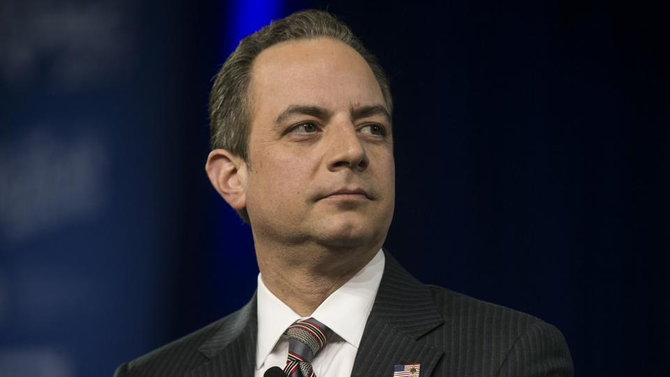 Reince Priebus, the White House chief of staff.