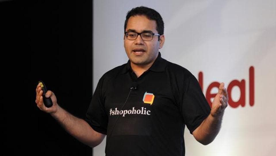 Kunal Bahl, co- Founder of Snapdeal addresses the media. Rumours also have it  that Alibaba, the anchor investors in a $500-million fund-raising in August 2015, is in talks with its other investee company Paytm and Snapdeal to form a large e-commerce firm.