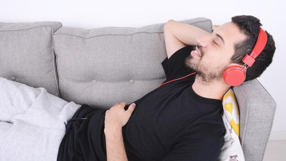 Listening  to music during study breaks can create a positive and productive environment by elevating your mood.