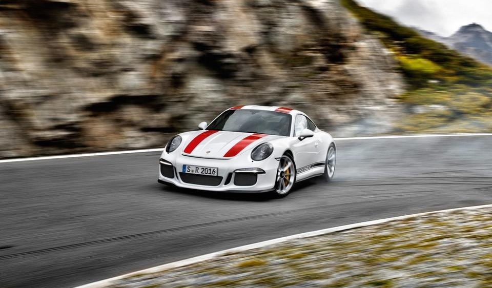 Only 991 units of the Porsche limited edition 911 R have been built globally.