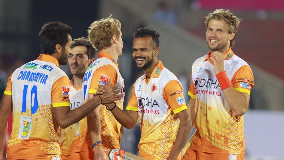Kalinga Lancers celebrate after beating