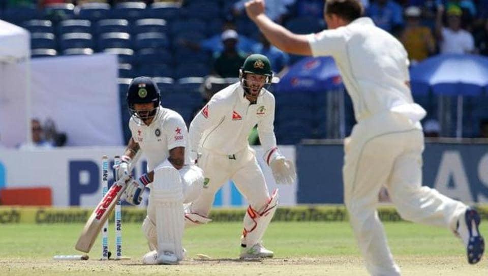 India vs Australia,Virat Kohli,Steve O'Keefe